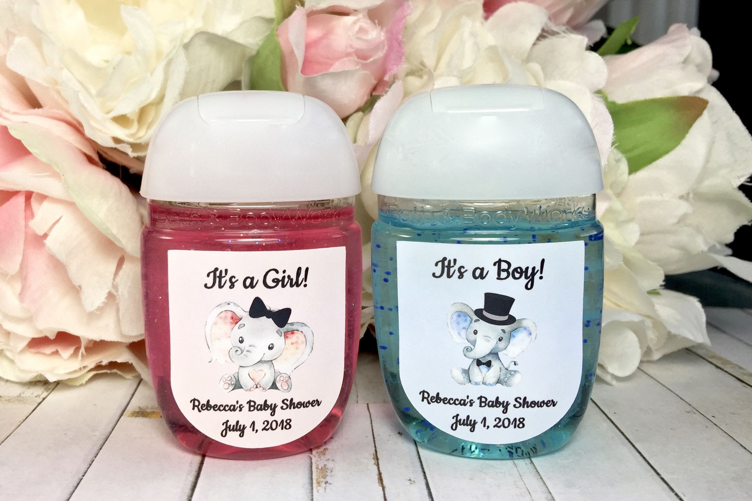 Hand Sanitizer Baby Shower Favors The Best Baby Shower Favor