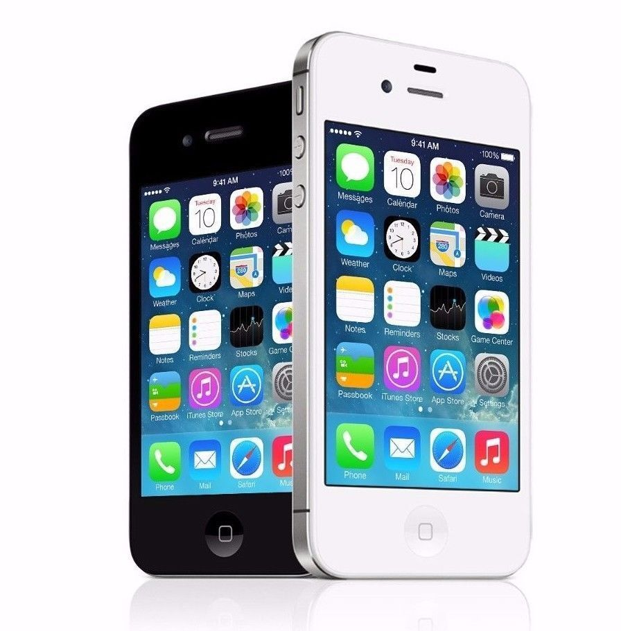 Apple Iphone 4s 16gb Factory Unlocked Smartphone Black White Perfect Condition Iphone 4s Iphone Apple Iphone