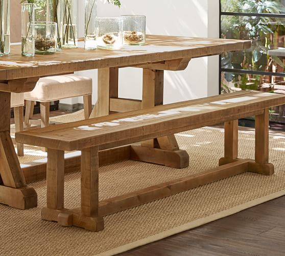 Stafford Reclaimed Wood Dining Bench Wood Dining Bench Reclaimed Wood Benches Wood Bench
