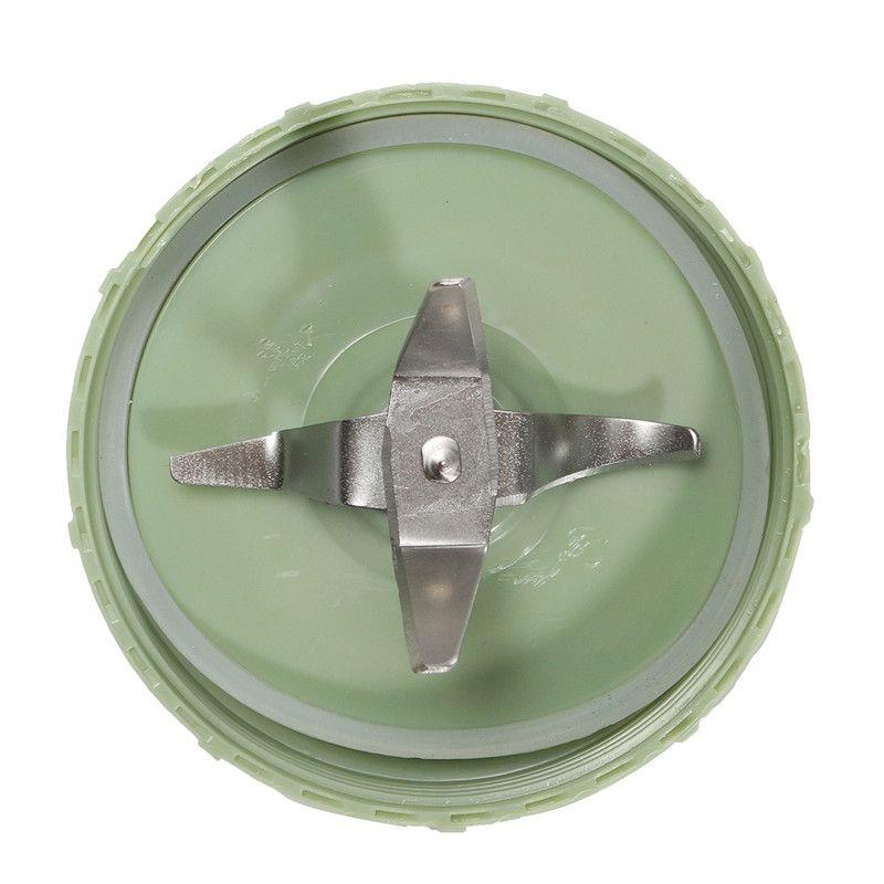 82x55 미리메터 스테인레스 스틸 실버/녹색 식품 가공 기계 만드는 커터 영양 믹서기 아기 총알