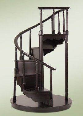 Best 2012 Byers Choice Left Spiral Staircase Spiral 400 x 300