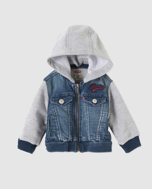 estilo atractivo 60% barato clientes primero Cazadora vaquera de bebé niño Levi´s Kidswear en azul con ...