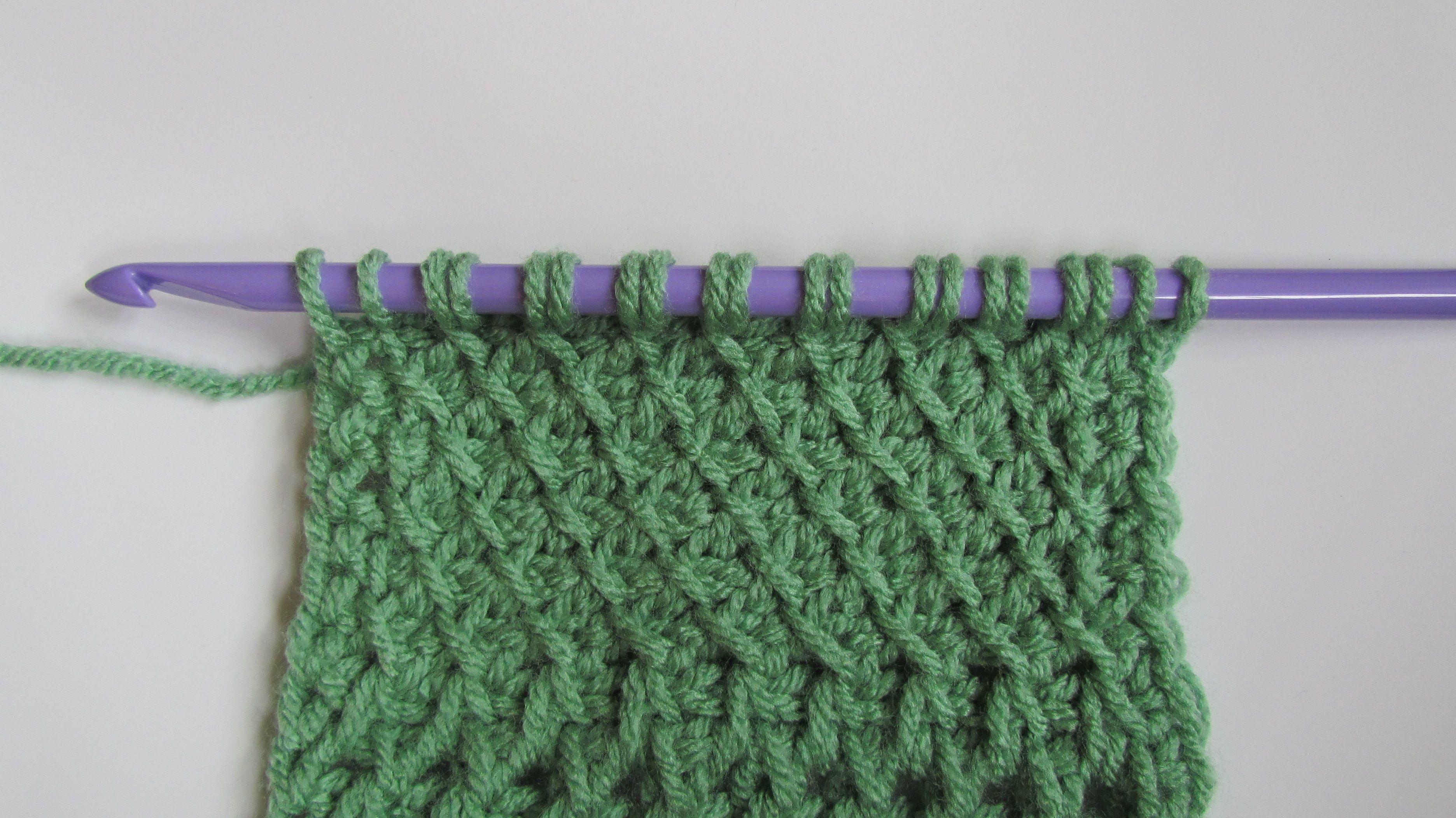 Tunisian slanted fabric stitch tunisian crochet stitches tunisian slanted fabric stitch fabric patternscrochet bankloansurffo Images
