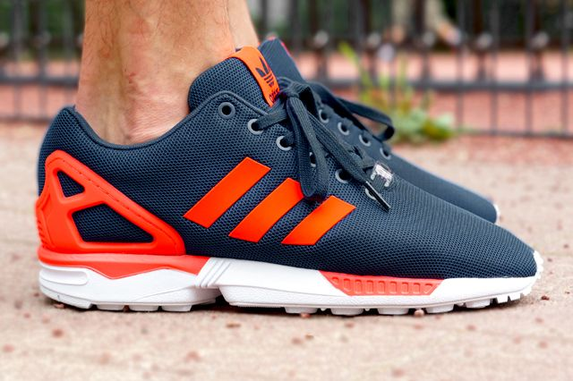 e89b8ea42c01f ADIDAS ORIGINALS ZX FLUX (DARK BLUE SOLAR RED)