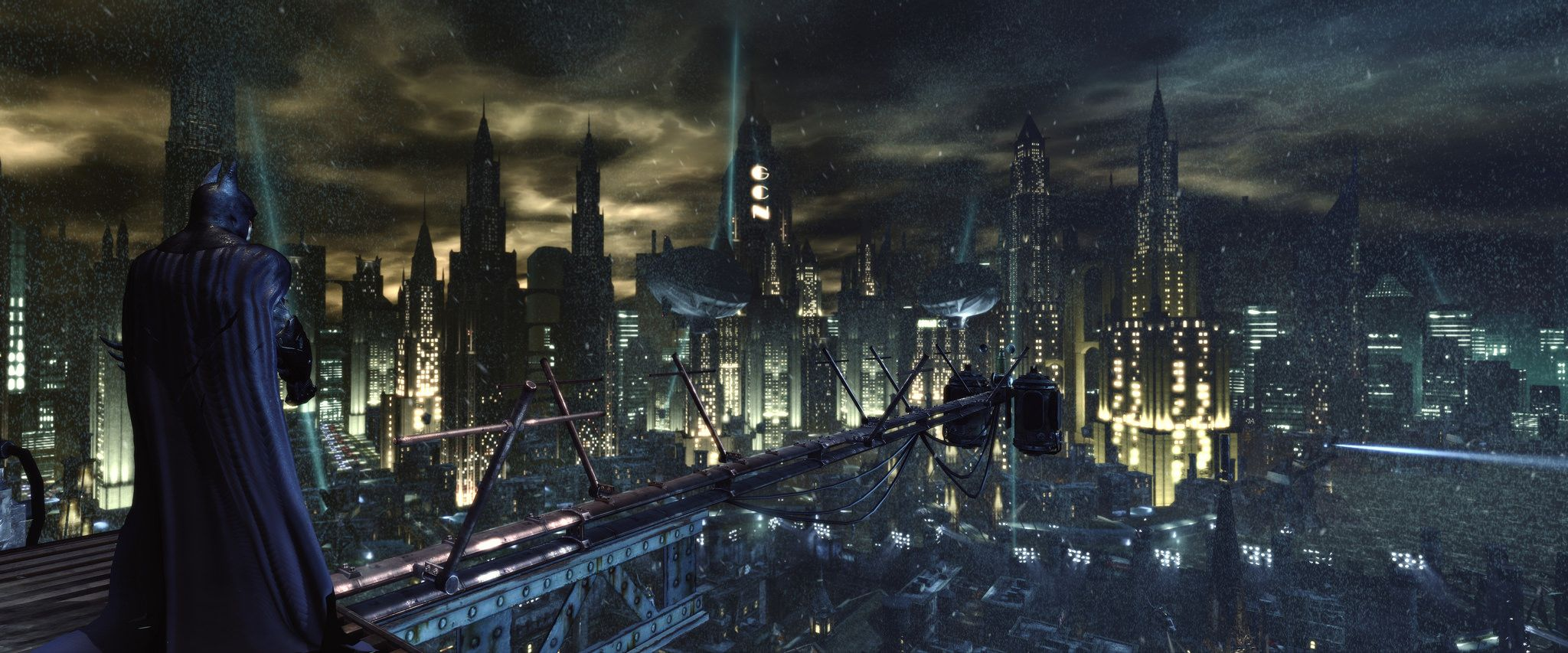 Batman Arkham City 3840x1080 Wallpaper Wallpaper Arkham City