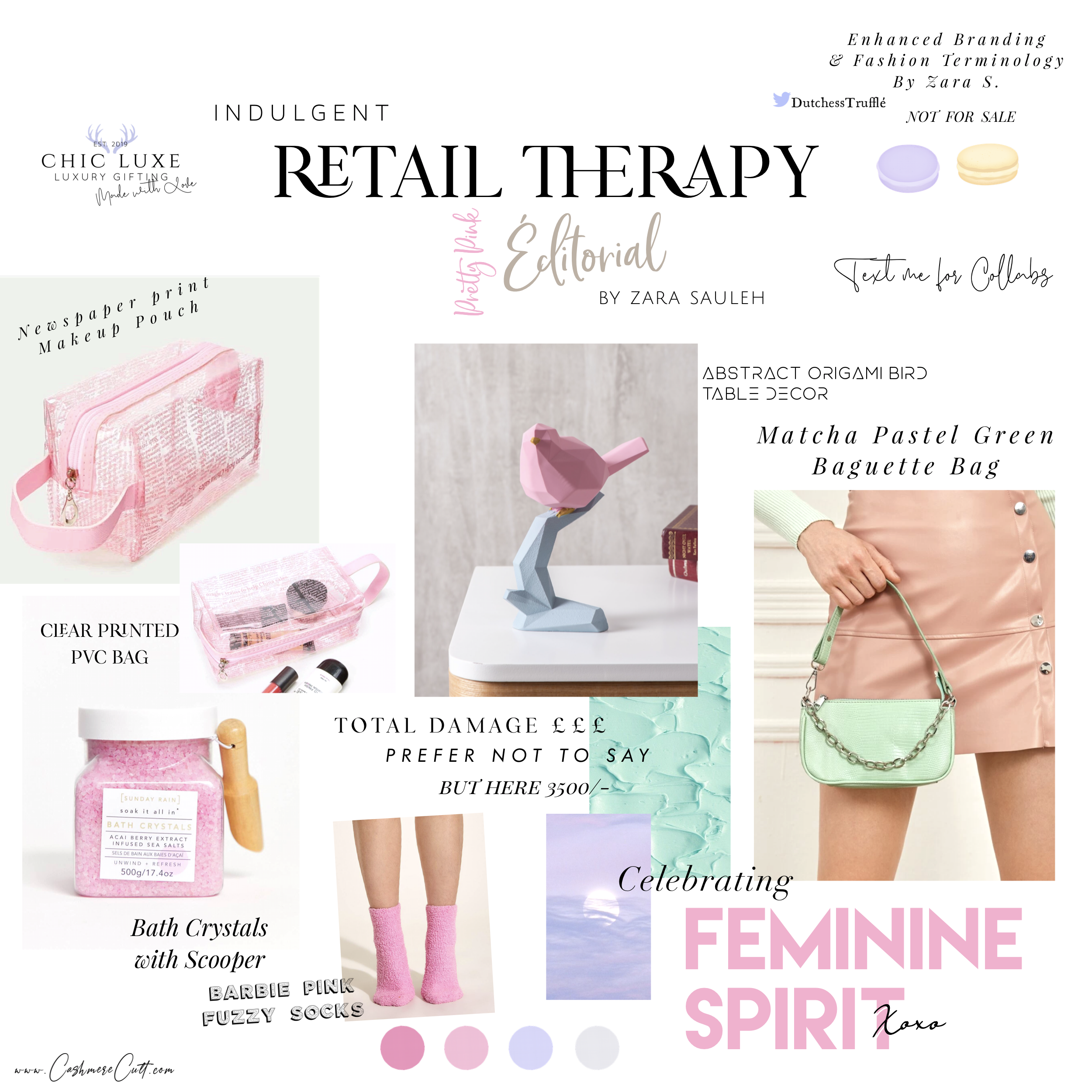 ‪www.cashmerecult.com   Or sibylmoonchild.com/chic-luxe #pink #gifts #giftingideas #selfindulgence #giftsforher #SelfCareSunday #selfpampering #kits #accessories #beauty #luxury #aesthetic #90s #love #fashion #pretty #chic #love #cute #beauty #blog #style #lifestyle‬