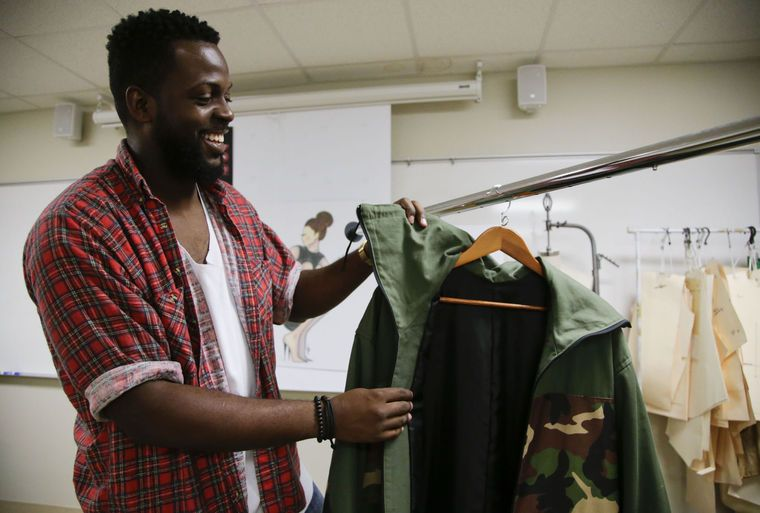 Twelve students and graduates of Clary Sage College Fashion Design Program will present collections.