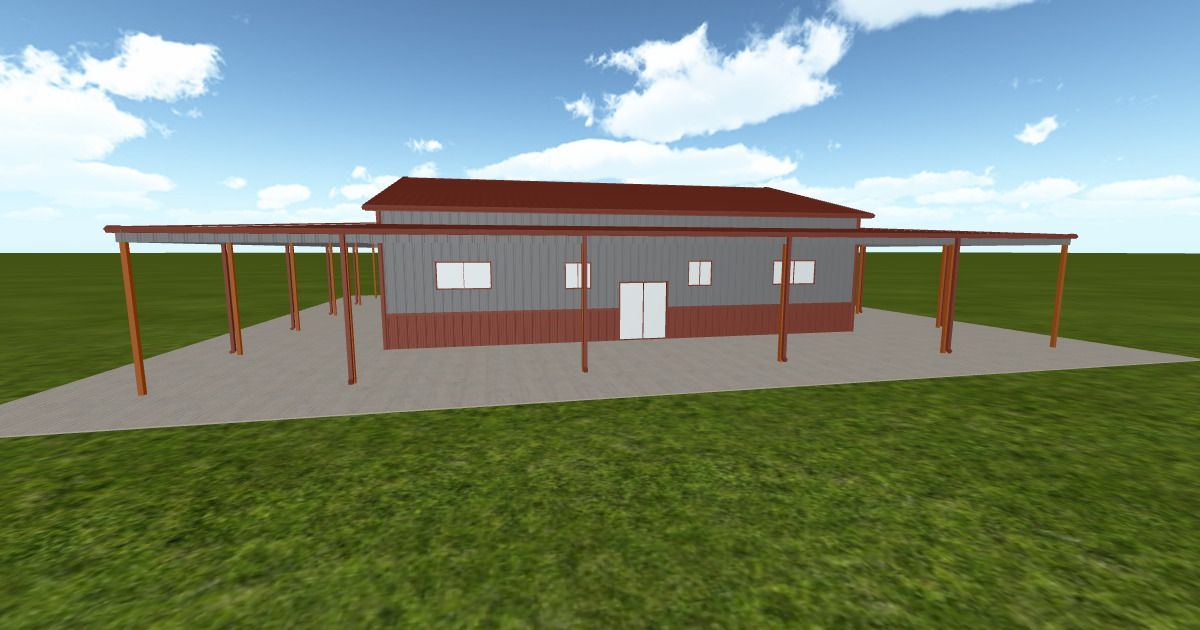 Cool 3D #marketing http://ift.tt/1qoguml #barn #workshop #greenhouse #garage #roofing #DIY