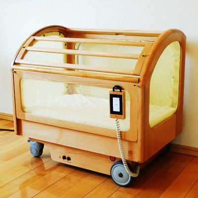 Japanese Automatic Rocking Crib | Unique baby cribs, Modern ...