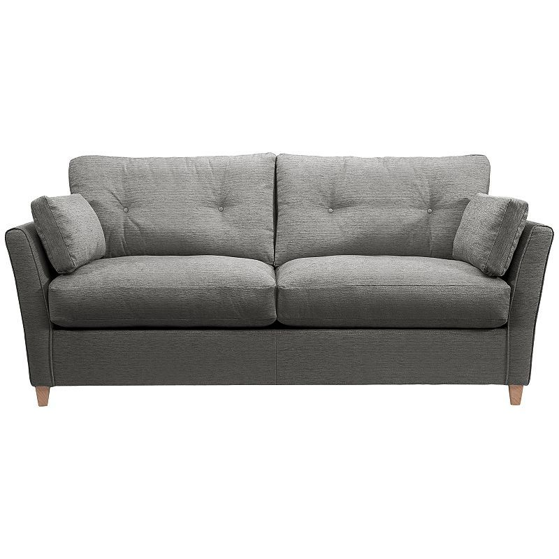 buy john lewis chopin grand sofa bed with open sprung mattress, charcoal  online at johnlewis OW93Y246