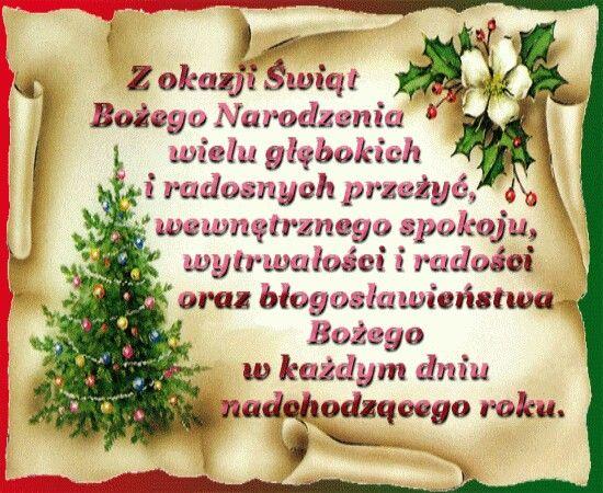 życzenia Boże Narodzenie świąteczne Teksty Boże