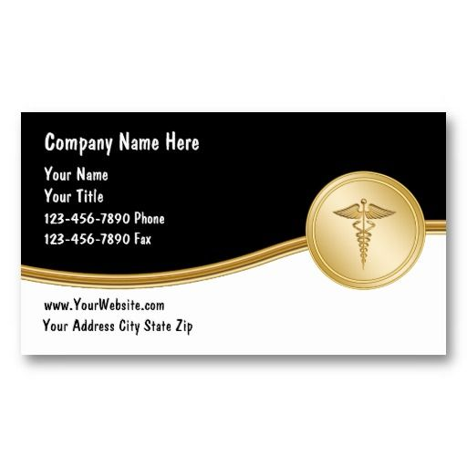 Medical Business Cards Business cards and Business - medical business card templates
