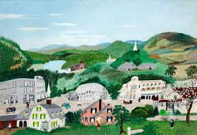"""From the Renaissance to the present day: 130. Anna Mary Robertson Moses """"Grandma Moses"""" (USA, 1860-1961)."""