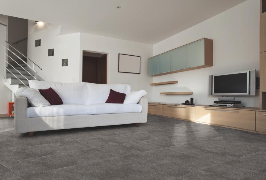 Piso piedra natural con acabado mate serie oxus de for Losetas para piso interior