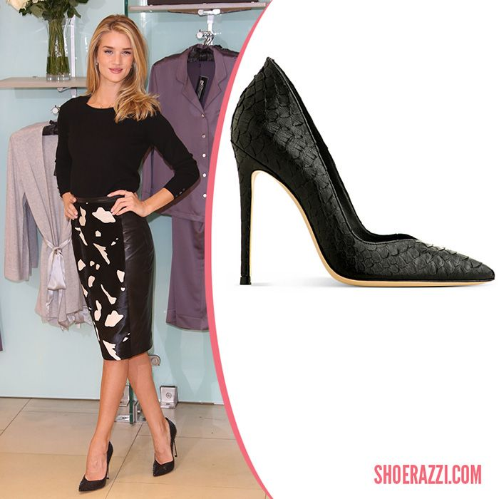 836421b3db55 Rosie Huntington-Whiteley Shoes - Celebrity Heels - ShoeRazzi ...
