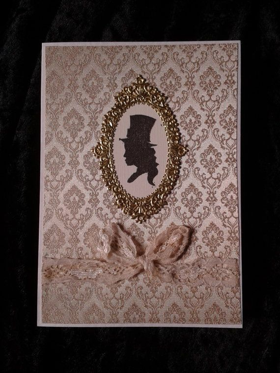 Miss Dorothy  Steampunk Neo-Victorian Greeting Card  by unusuality