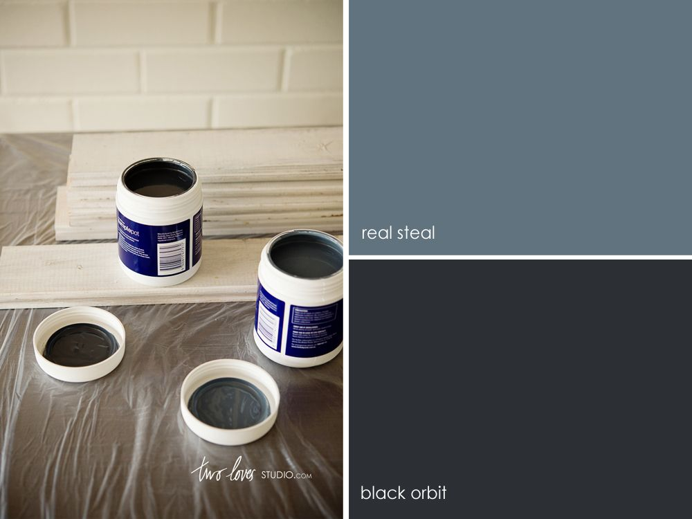 diy food photography backgrounds with two no fuss painting techniques - Slate Blue Living Room Ideas