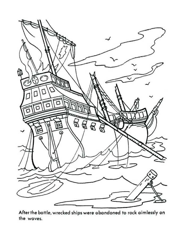 Printable Boat Coloring Pages Coloring Pages Black Pearl Ship