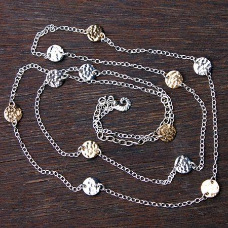 Coins Duet necklace   $295