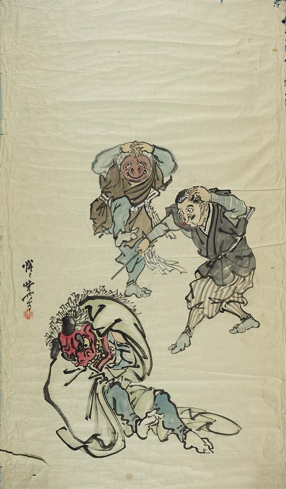 lion dance lion dance japan painting dance tattoo