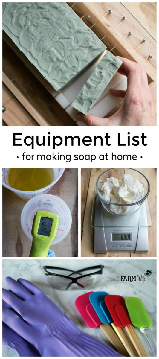 List of Equipment You Need to Make Soap at Home