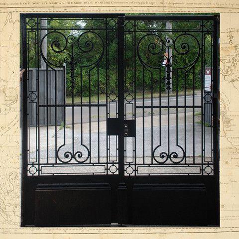 Wrought Iron Driveway Gates Architectural Antiques Antique