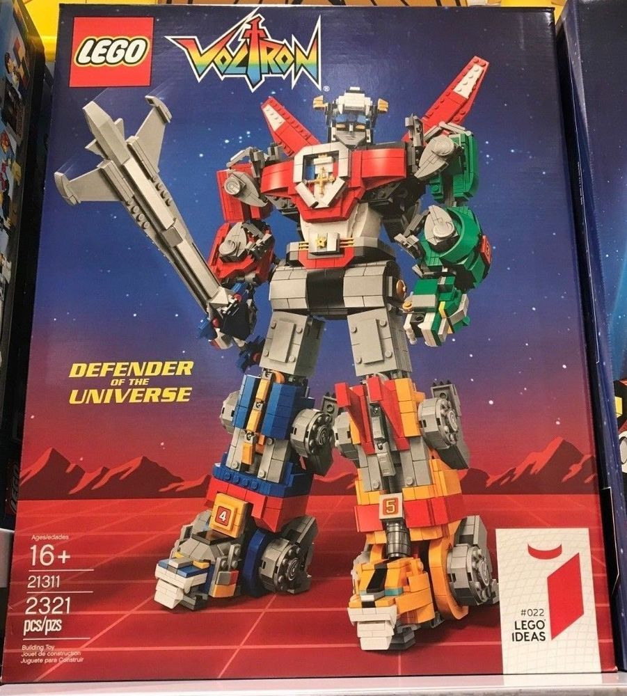 NEW EXCLUSIVE LEGO Ideas Voltron 21311 BNIB