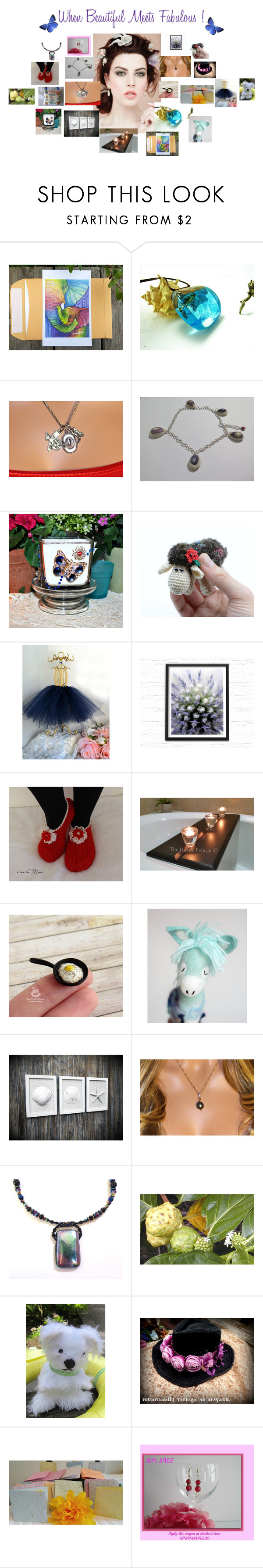 """""""When Beautiful meets Fabulous !"""" by zebacreations ❤ liked on Polyvore featuring Sarah Jane"""