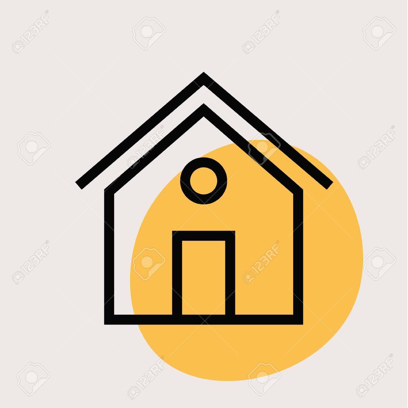 Home Icon Vintage Colour Series Flat Illustration Illustration Aff Vintage Colour Home In 2020 Home Icon Powerpoint Presentation Templates Flat Illustration