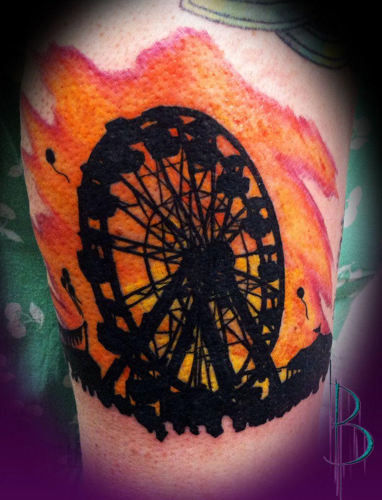 Ferris wheel tattoo tattoo ideas pinterest wheel for Ferris wheel tattoo