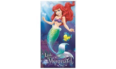 The Little Mermaid Ariel Little Girls Swimsuit /& Beach Towel Bundle Set