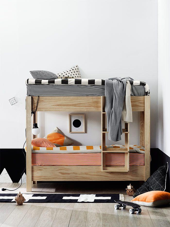 25 melhores ideias de roupa de cama para crian as - Cama pequena ikea ...