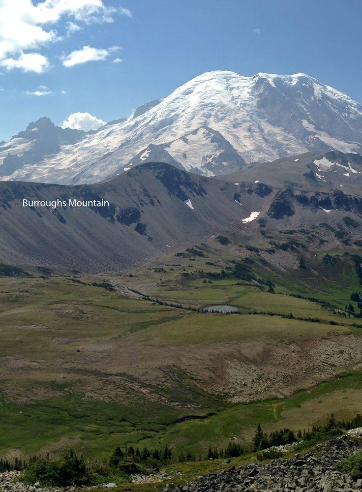 Burroughs mountain trail mountains mountain trails