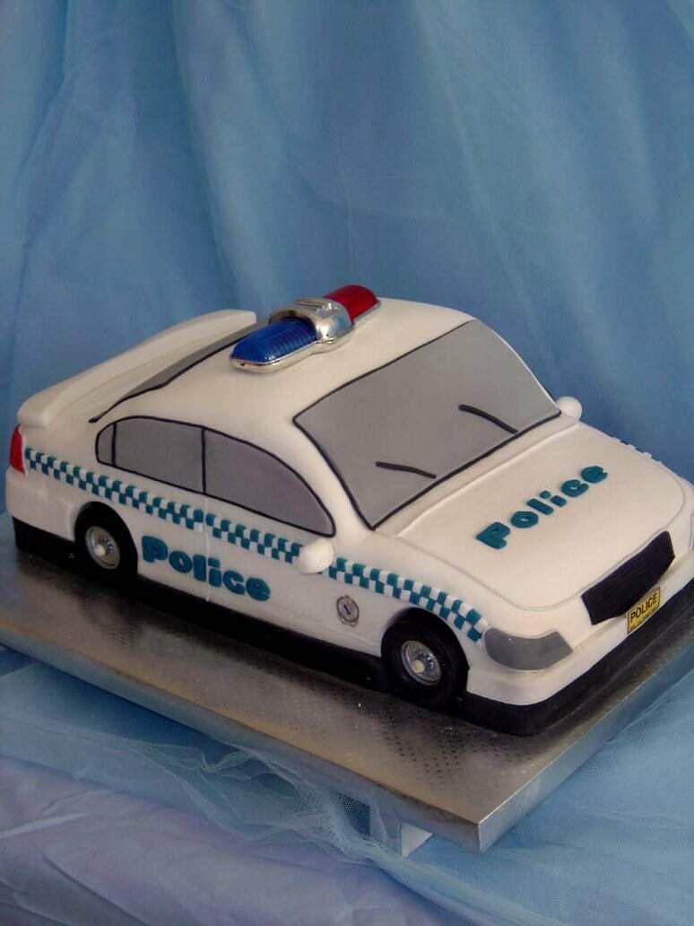 Police Car Cake Ciaran Pinterest Police Car Cakes Car Cakes