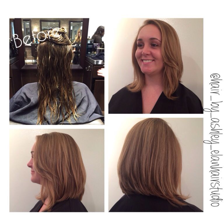 Fall blonde lob #newchange #fallblonde #lob #longtoshort