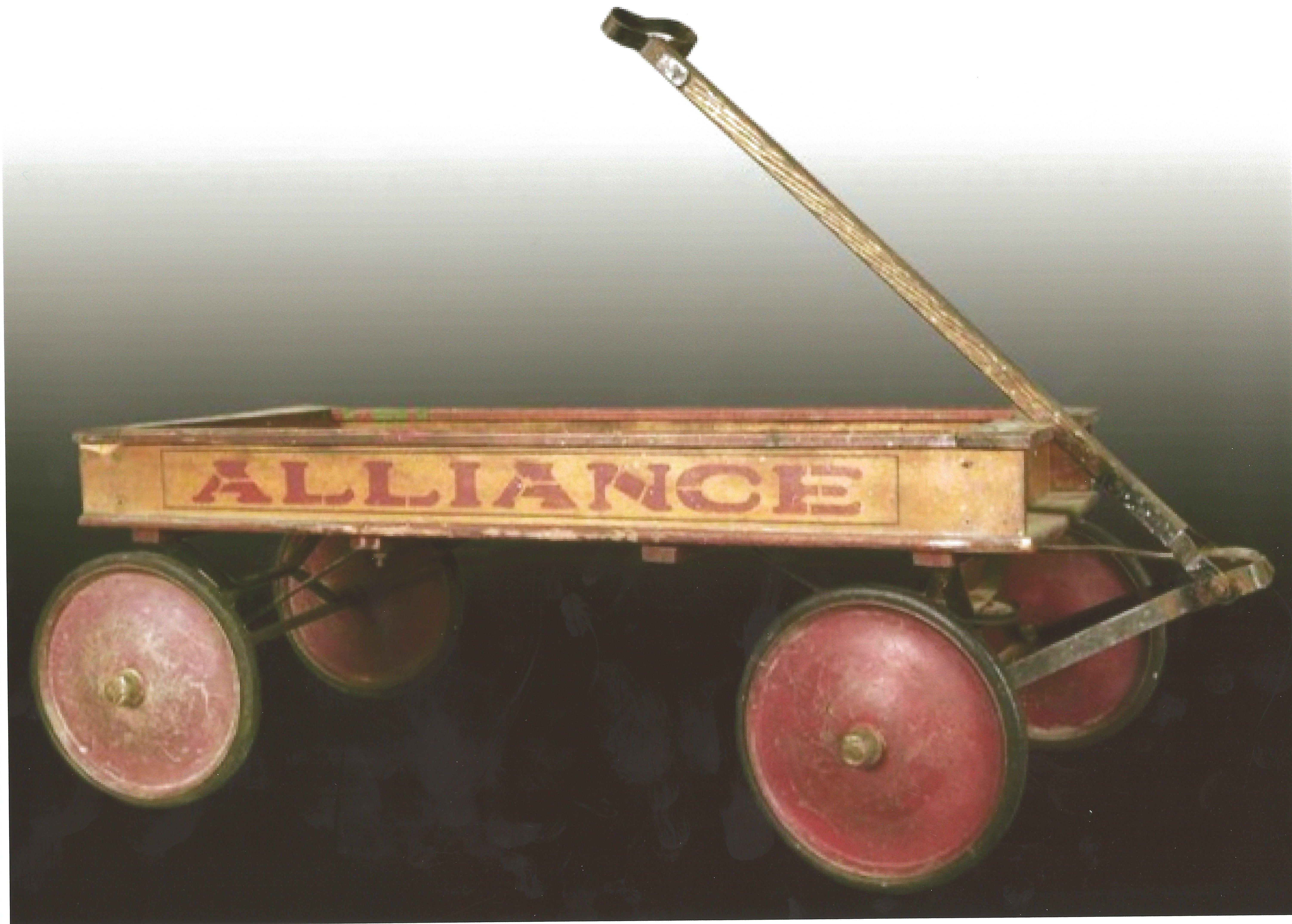 Claasic vintage toys vintage toys second shout out http www - Circa 1925 Alliance Coaster Wagon Paris Mfg Co Antique Toysvintage