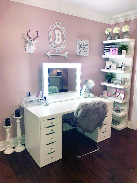 23 Must Have Makeup Vanity Ideas By Rebecca Puttock Bedroom Sets