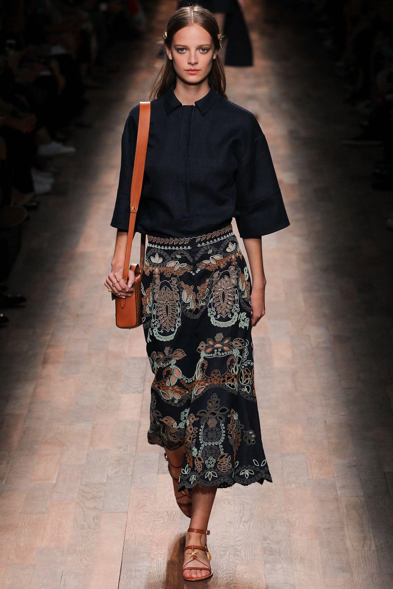 Valentino Garavani spring 2015 ready to wear collection. See more: #ValentinoGaravaniAtFip, #FashionInPics