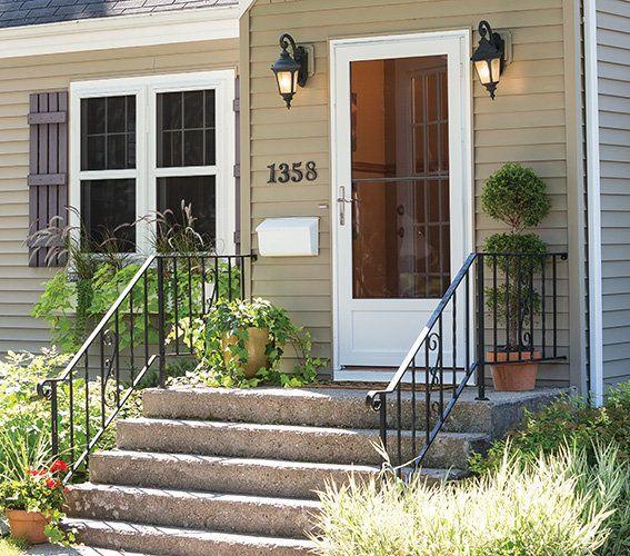 Larson Storm Doors And Windows America S 1 Selling Storm Door Storm Door Security Storm Doors Larson Storm Doors