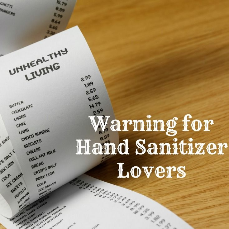 Learn how being clean is jacking up your chemical exposure to BPA. #HandSanitizer