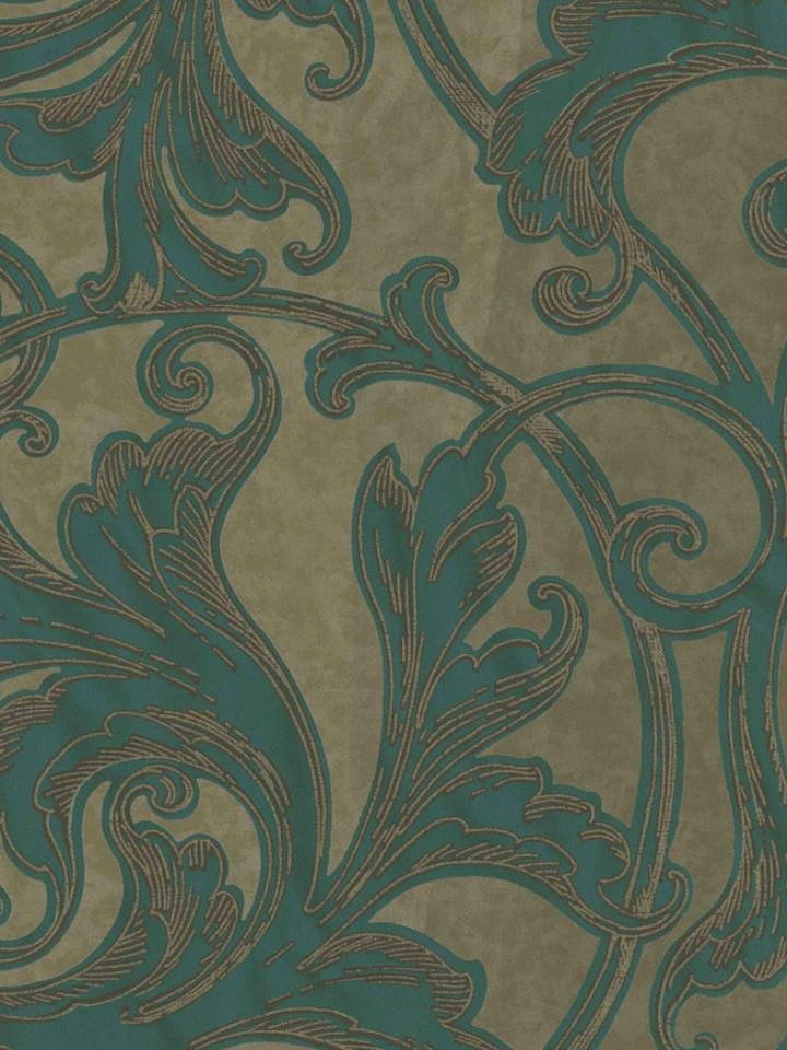 Interior Place - Brown 290-50402 Swirl Scroll Damask Wallpaper, $54.90 (http://www.interiorplace.com/brown-290-50402-swirl-scroll-damask-wallpaper/)