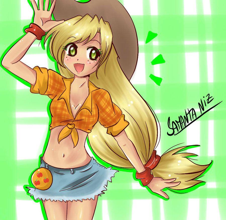 Applejack De My Little Pony By Keitenstudio On Deviantart My