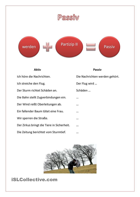 Passiv | German, Deutsch and Language