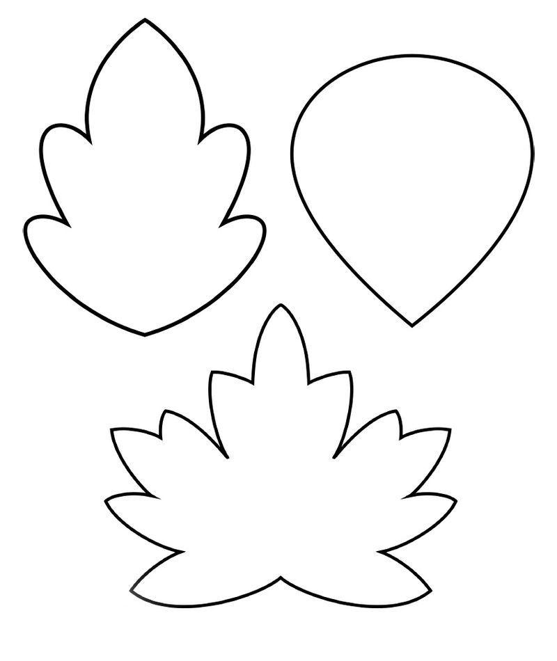 Resultado de imagen para plantillas de hojas | Adornos | Pinterest ...