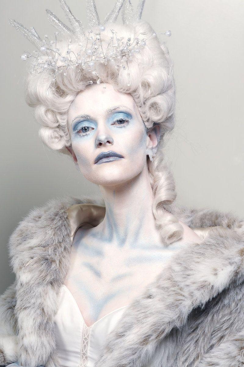 Ice princess by randydaudlin on deviantart halloween makeupnails