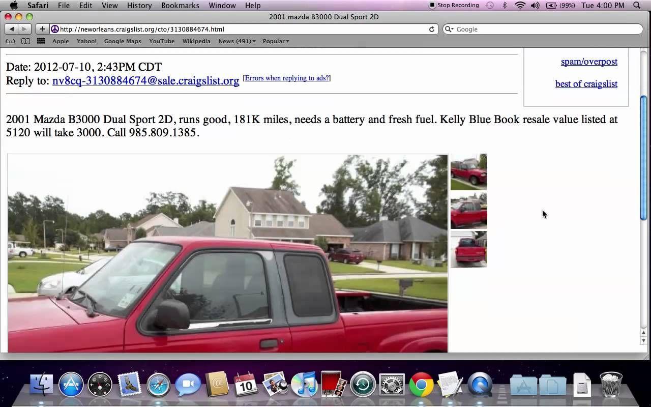 News Videos & more Craigslist New Orleans Popular Used