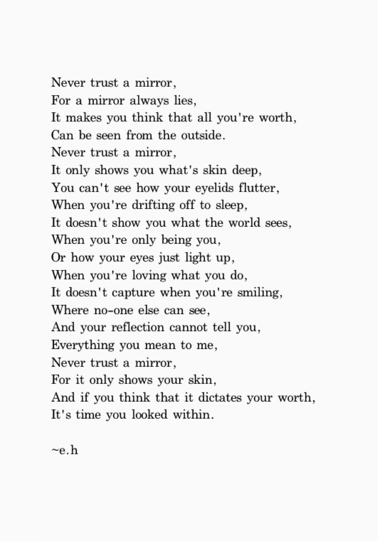 Trust Poems 1