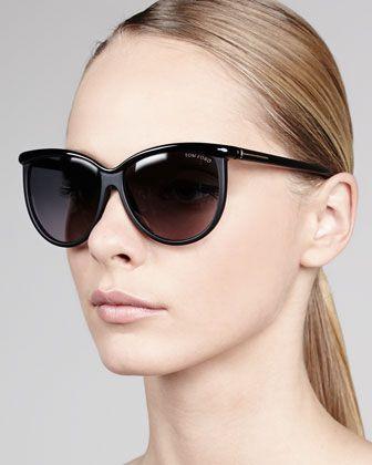 1fc1e22eebaa  TomFord sunnies! I love the shape of this eyewear...  fashion  style  Josephine Enamel Sunglasses