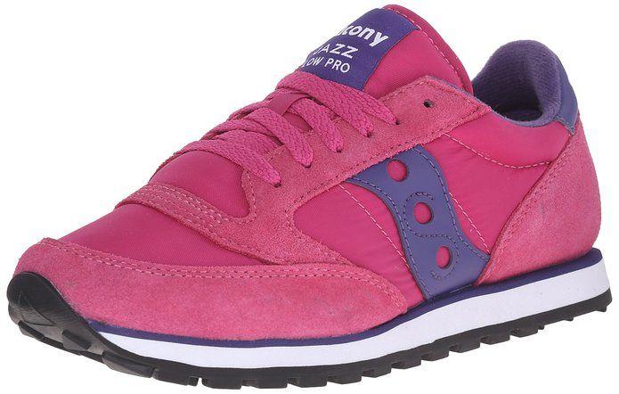 Saucony Jazz suede gray purple pink 8.5 womens