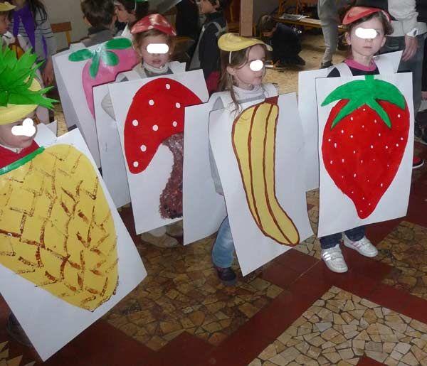 fabriquer un déguisement de fruit ou de légume